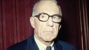 Dr Benjamin Spock, 1970