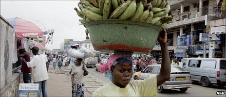 A street scene in Accra (archive shot)