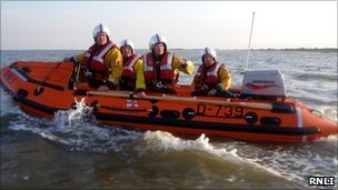 Skegness RNLI inshore lifeboat Peterborough Beer Festival IV