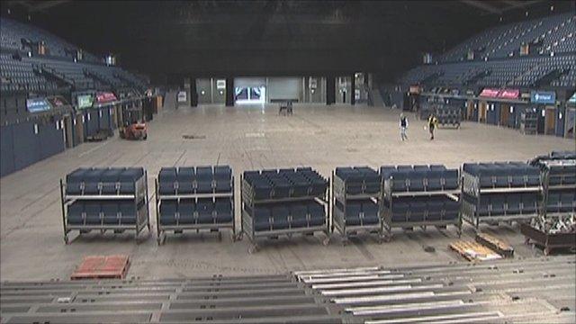Wembley Arena will host badminton in 2012.