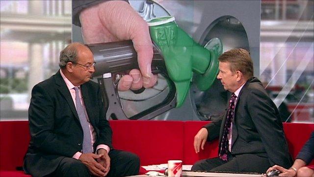 Brian Madderson talks to Bill Turnbull