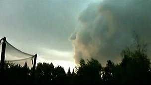 Face in the cloud?