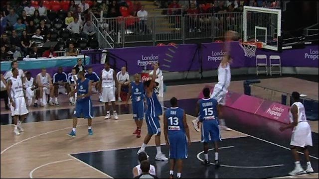 GB lose first basketball test event game to France