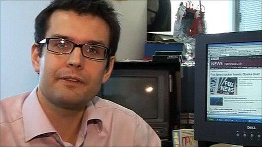 BBC journalist Iain Mackenzie