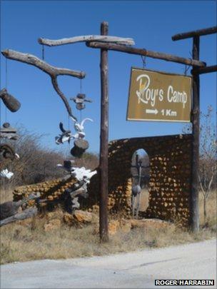 Roys camp entrance