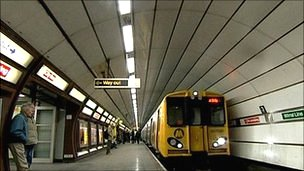 Merseytravel train
