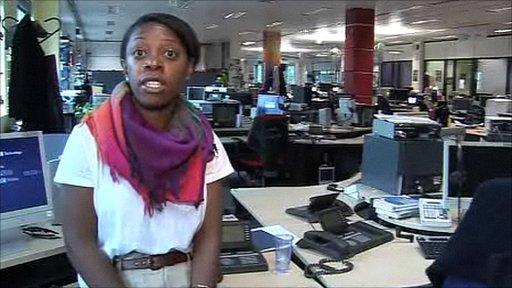 BBC Radio 5 live journalist Karlene Pinnock
