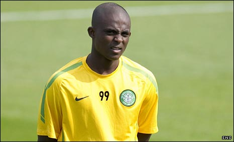 Celtic forward Islam Feruz