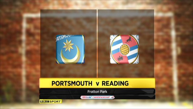 Portsmouth 1-0 Reading