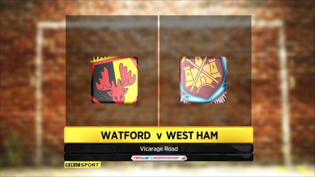 Watford 0-4 West Ham