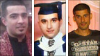Haroon Jahan, Shazad Ali and Abdul Musavir died after being hit by a car during Tuesday's disorder