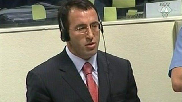 Former Kosovo PM Ramush Haradinaj