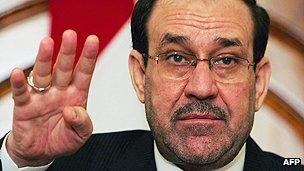Iraqi premier Nouri al-Maliki