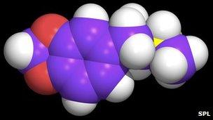 A molecule of ecstasy