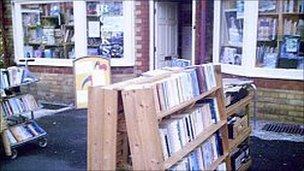 The Swanlake bookshop, Colwyn Bay