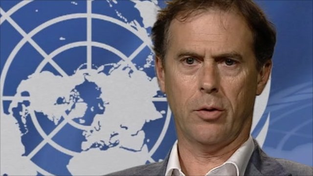 UN human rights spokesman Rupert Colville