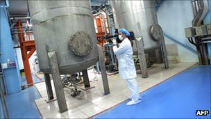 Inside Iranian uranium conversion facility near Isfahan