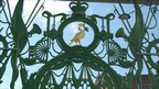 Liver Bird detail on Sailors' Home gates