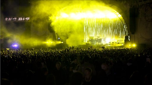 The Chemical Brothers at the Big Chill Festival in Herefordshire