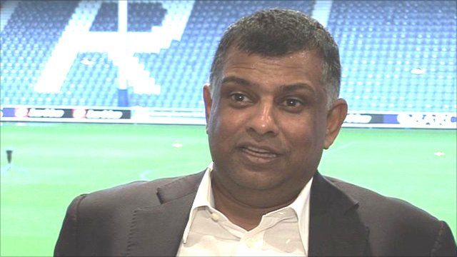 Malaysian businessman Tony Fernandes