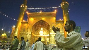 Shrine of Imam Ali in Najaf, Iraq