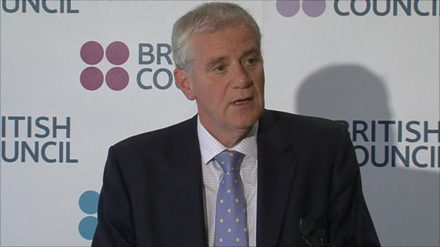 Chief executive of the British Council, Martin Davidson