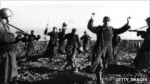 Russia 1942. Pic: Hulton Archive/Getty