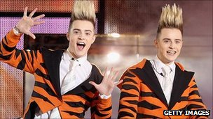 Jedward - otherwise known as John and Edward Grimes