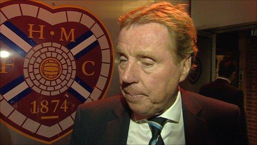 Tottenham Hotspur manager Harry Redknapp