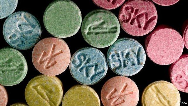 Ecsatsy pills