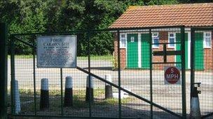 Forge Caravan Site, Stowmarket