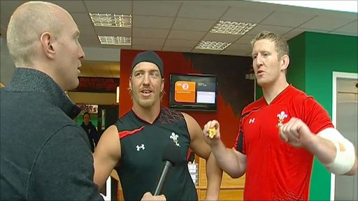 Tom Shanklin interviews Andy Powell and Bradley Davies