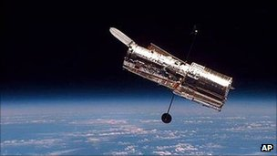 Hubble Space Telescope (pic: AP)