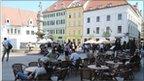 Square in Bratislava