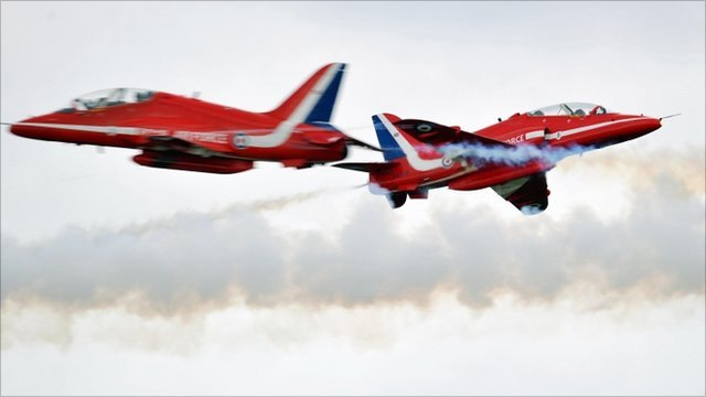 Red Arrows (file picture)
