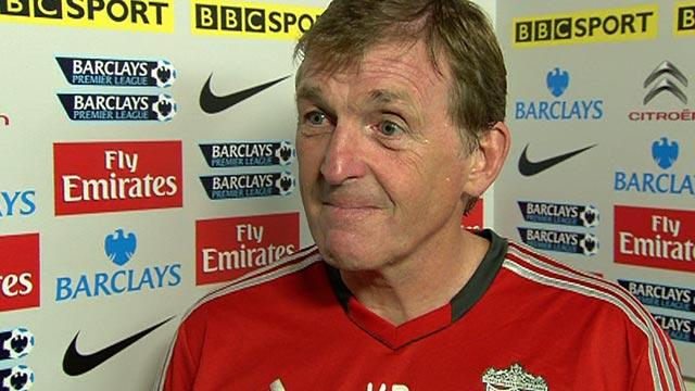 Liverpool boss Kenny Dalglish