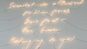 "Tracey Emin's Borrowed Light: ""Smashed into a thousand million pieces, each part, for ever, belonging to you"""