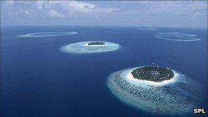 Maldive atoll