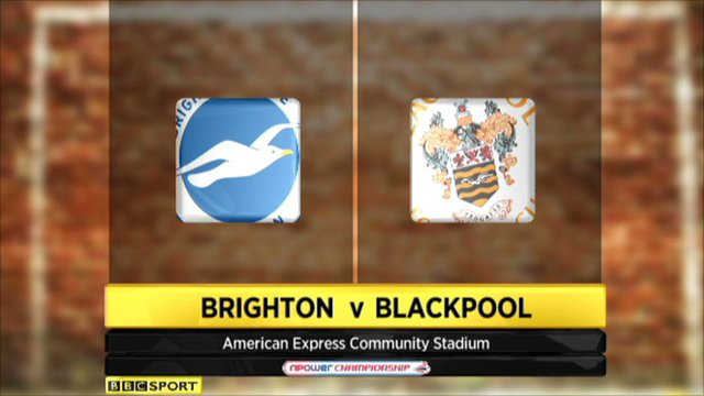 Highlights - Brighton 2-2 Blackpool