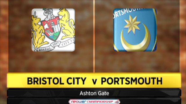 Bristol City v Portsmouth