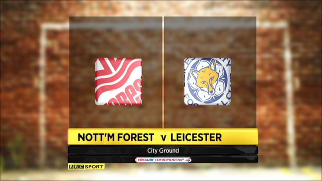 Highlights - Nottm Forest 2-2 Leicester