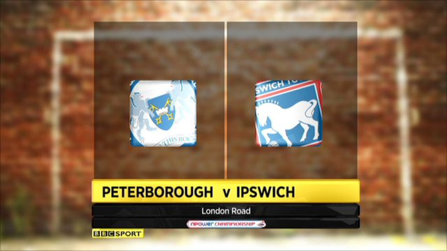 Highlights - Peterboro 7-1 Ipswich