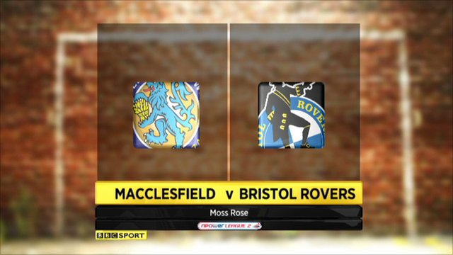 Highlights - Macclesfield 0-0 Bristol Rovers