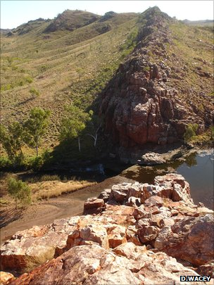 Strelley Pool in the remote Pilbara region