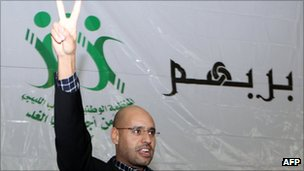 Saif al-Islam Gaddafi (March 2011)