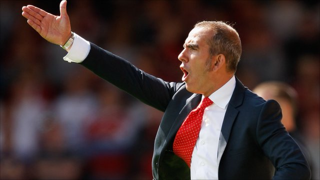 Swindon Town boss Paulo Di Canio