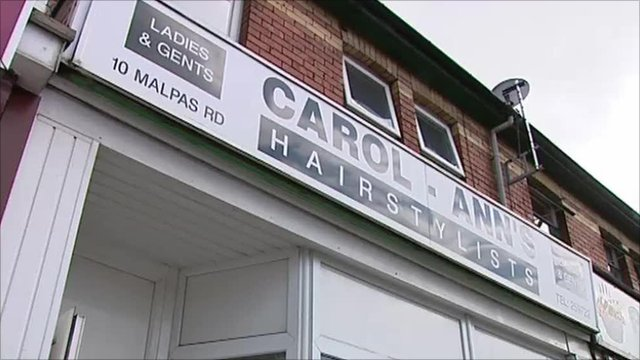 Carol-Ann's hair salon in Newport