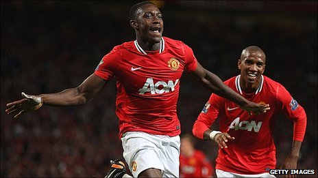 Danny Welbeck celebrates