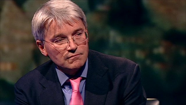 UK foreign development minister Andrew Mitchell