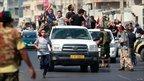Rebels in Qarqarsh district of Tripoli (22 August)